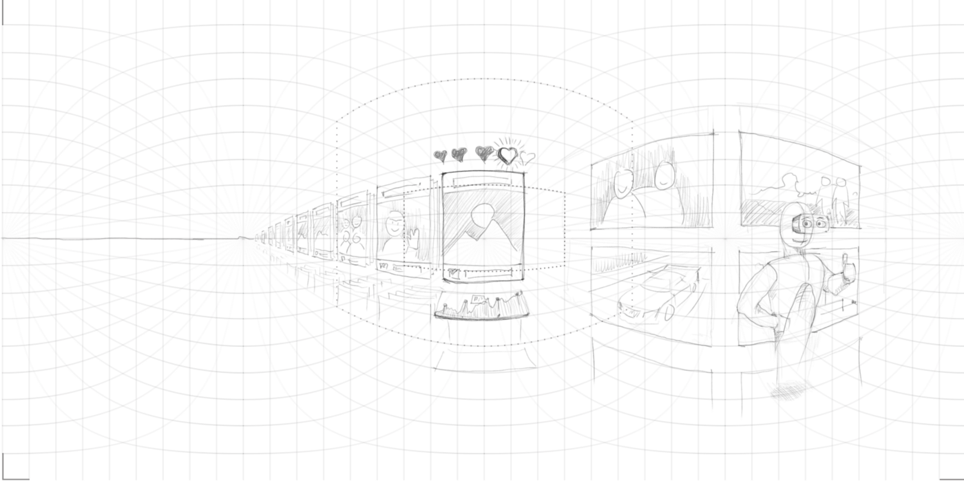 Draw Sketches for Virtual Reality Like a Pro